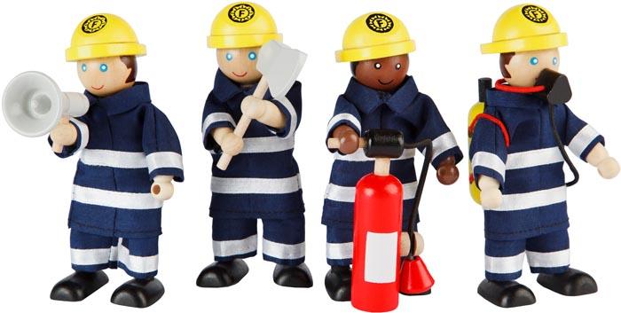 Tidlo Dockor Brandmän
