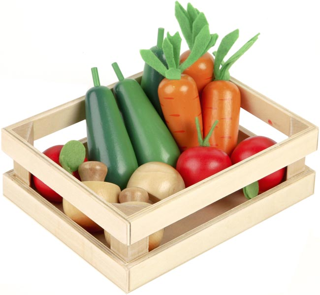 Tidlo Leksaksmat Vinter grönsaker