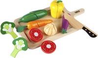 Leksaksmat Grönsaker skärbräda