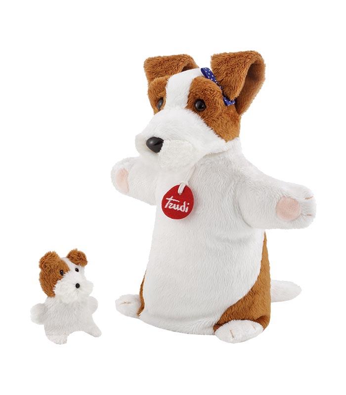 TRUDI handdocka & fingerdocka Hund
