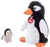 TRUDI handdocka & fingerdocka Pingvin