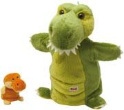 TRUDI handdocka Dinosaurie fingerdocka