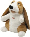 Trudi handdocka Hund långa öron