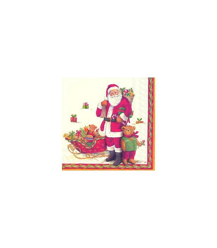 ihr Julservetter Santa And Teddy