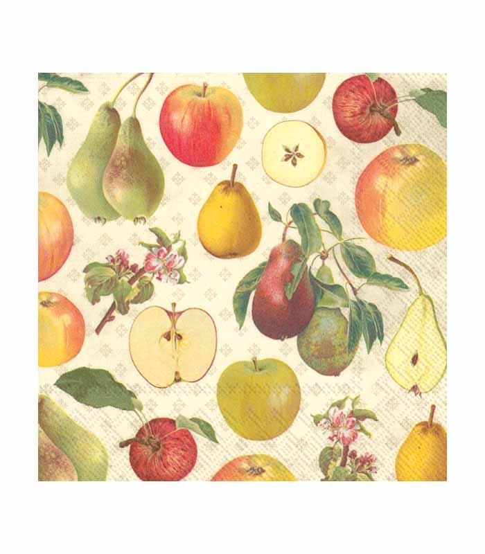 ihr Servetter Apple and Pear Cream