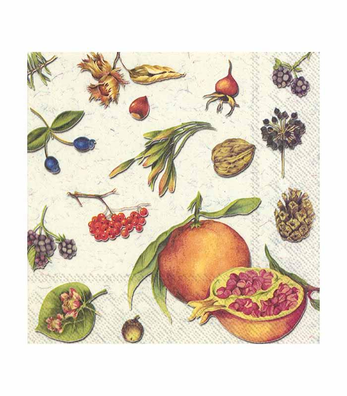 ihr Servetter Autumn Fruits