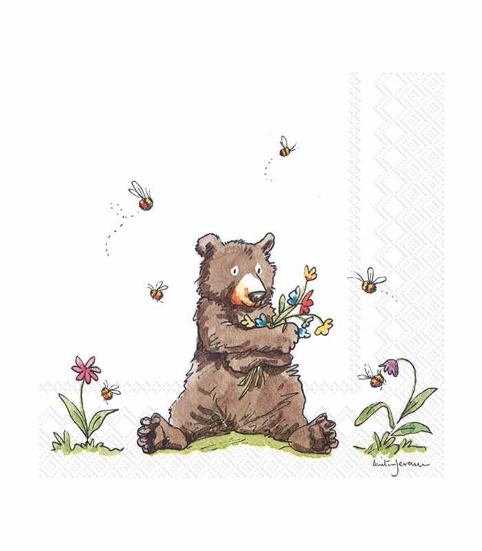 ihr Servetter Honey Bear