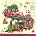ihr Julservetter Christmas Train