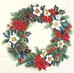 ihr Julservetter Christmassy Wreath