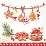 ihr Julservetter Cookies Made With Love Red