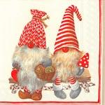 ihr Julservetter Friendly Tomte Red