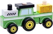 Wonderworld Traktor - Bygg ihop och ta isär