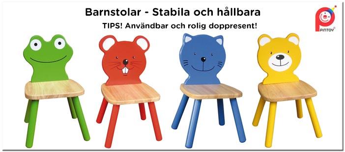 Barnstolar - Stabila och hållbara