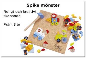 Spika mönster - Kreativa leksaker