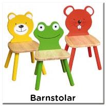 Barnstol - Stolar till barn i trä, trästolar