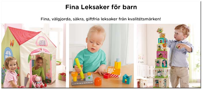 Fina leksaker, träleksaker, dockor, spel, pussel...
