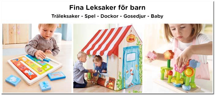 Leksaker - Hållbara och fina träleksaker