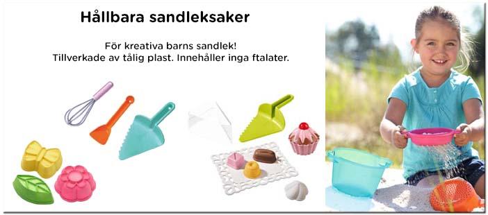 Hållbara sandleksaker, Haba sandleksaker