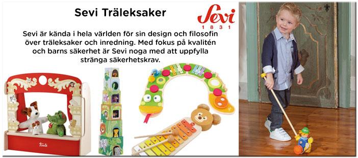 Sevi leksaker - Träleksaker;