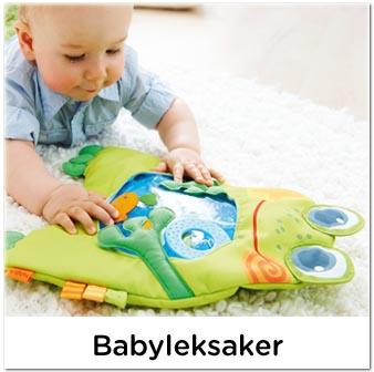 Säkra och fina babyleksaker