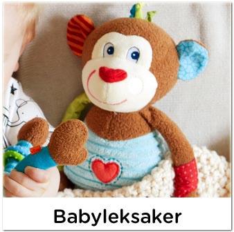 Fina säkra babyleksaker
