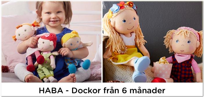 Haba docka, fina dockor till barn