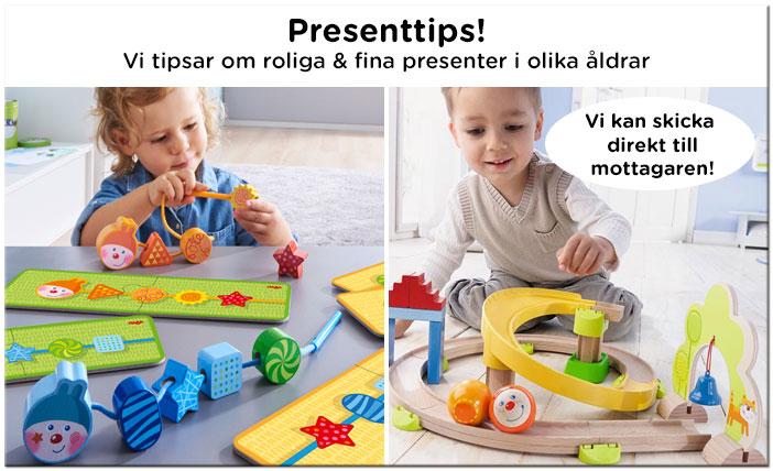 Presenttips till barn
