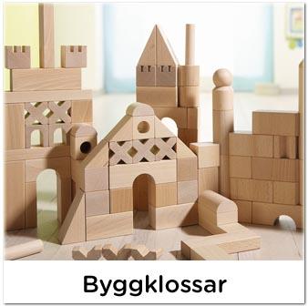 Byggklossar, klossar, träklossar till barn