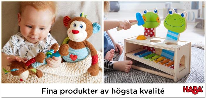 Haba leksaker av högsta kvalite