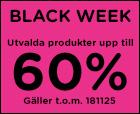 BLACK WEEK - Bra erbjudanden!