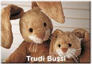 Trudi Bussi kramdjur, för små barn