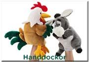 Trudi handdockor djur